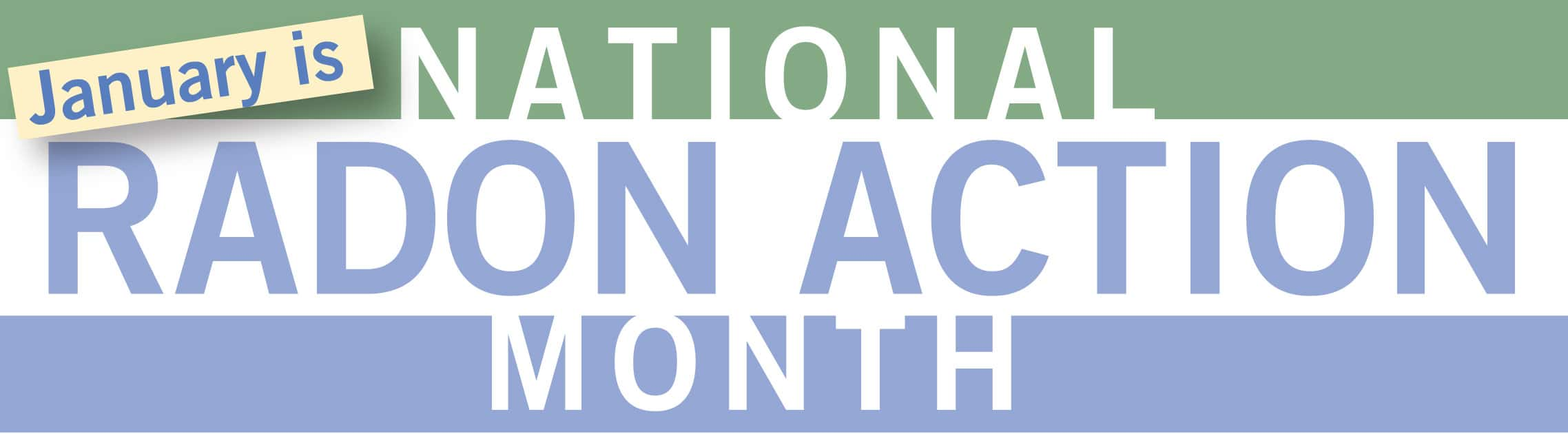national radon month is going on Resources related to national radon action month jump to main content us epa united states environmental national radon action month resources and materials.