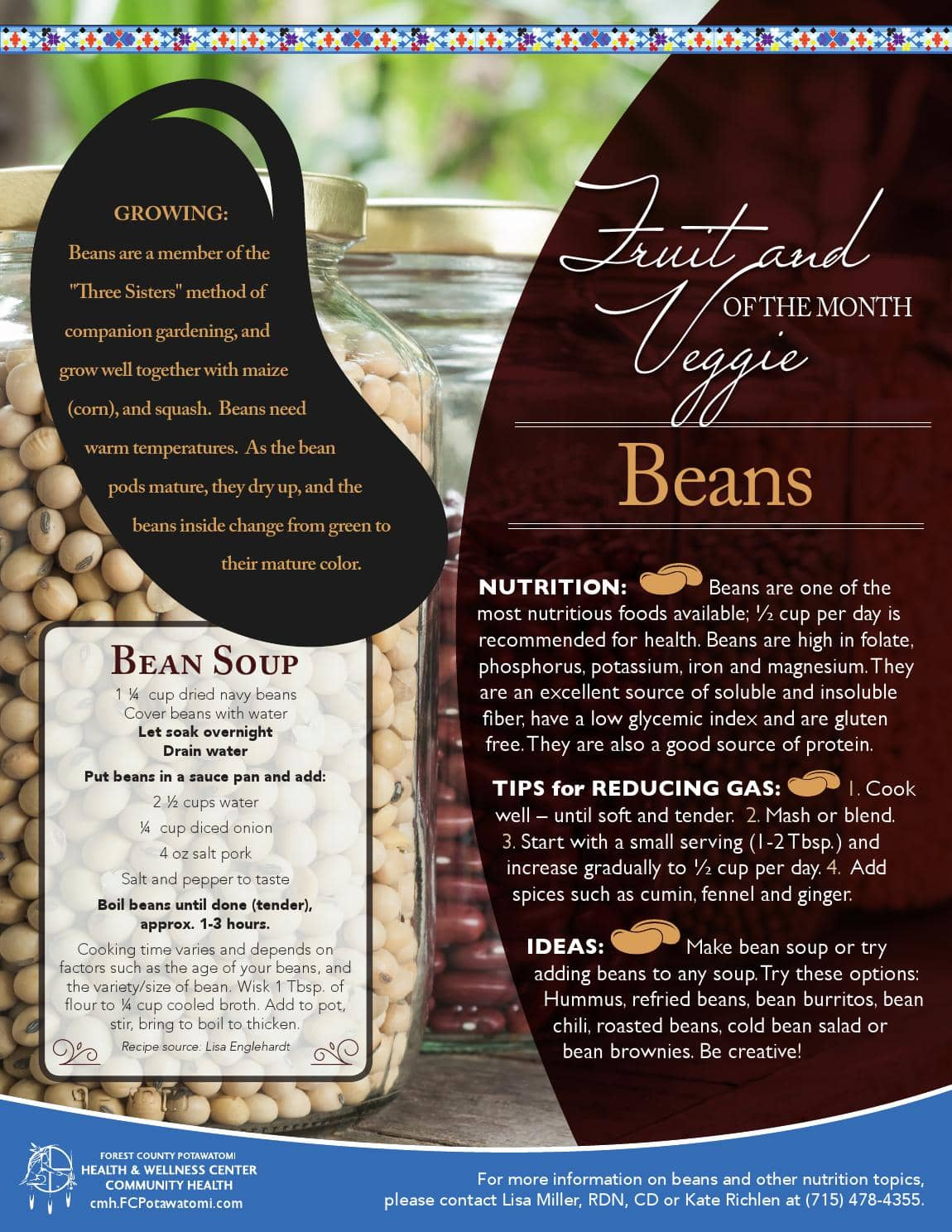 Fruit and Vegetable of the Month - Beans