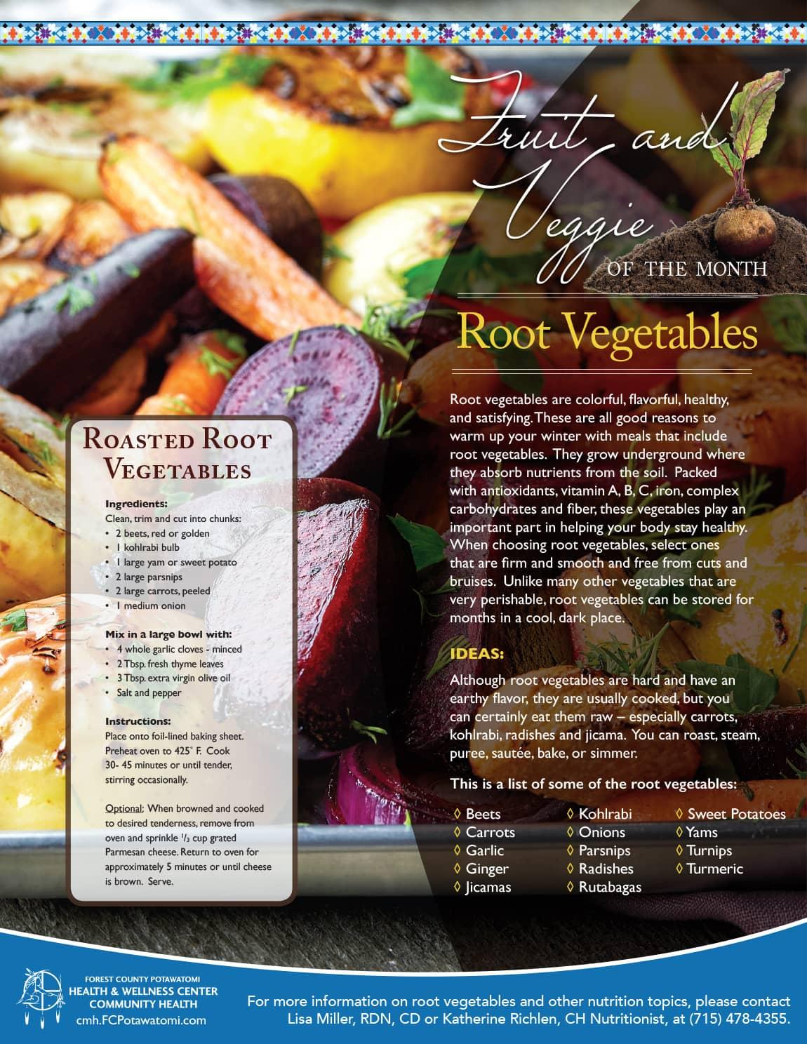 Root Veggies Flyer