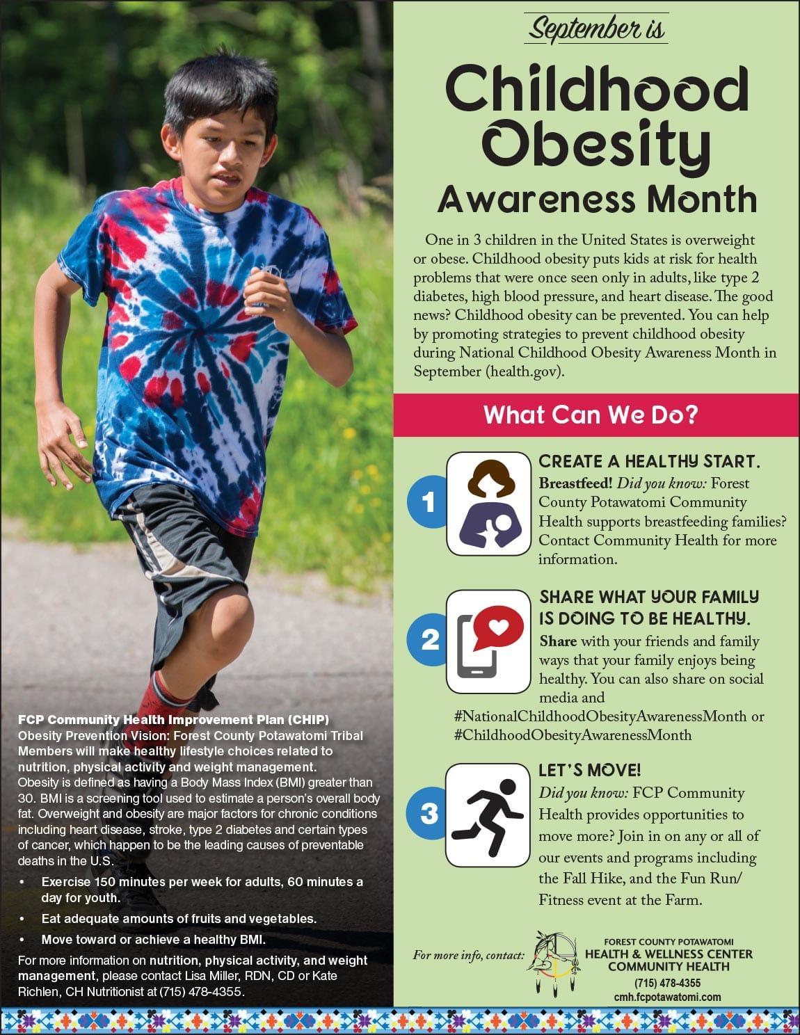 Obesity Prevention Flyer