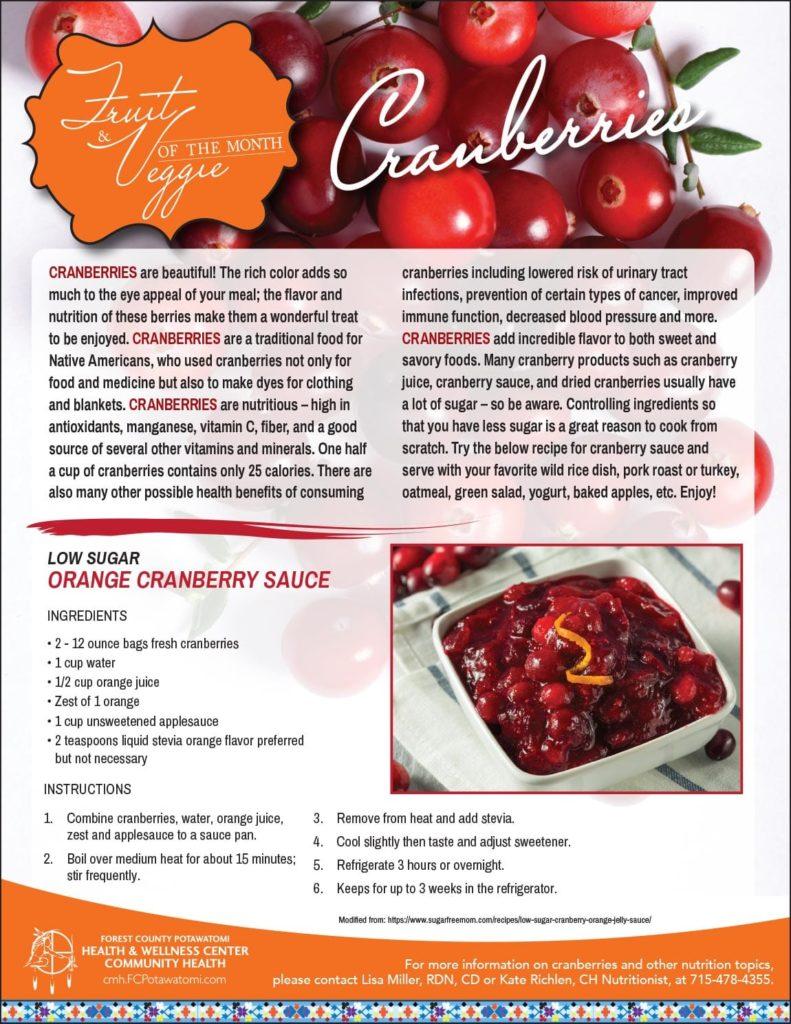 cranberries flyer