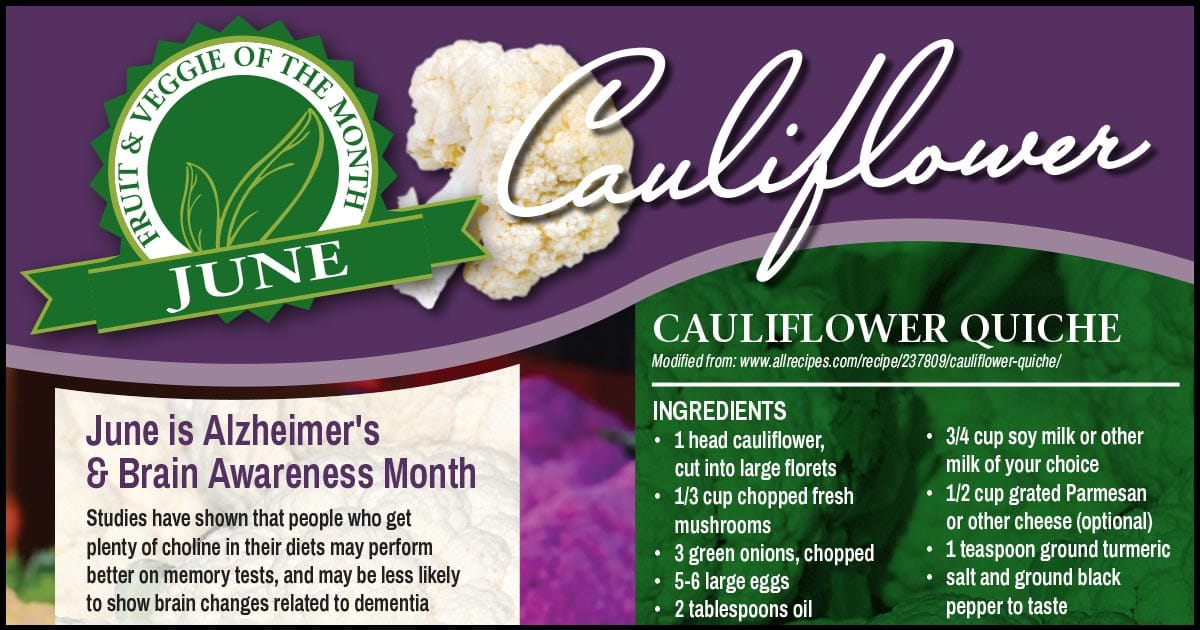 FVOM Cauliflower June 2019